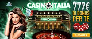 La lobby di Italia Casino AAMS