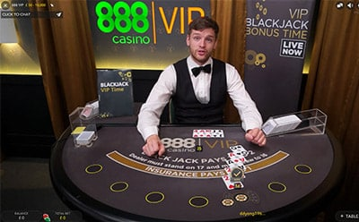888 blackjack live