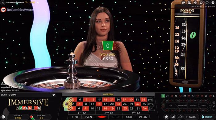 immersive roulette star casino