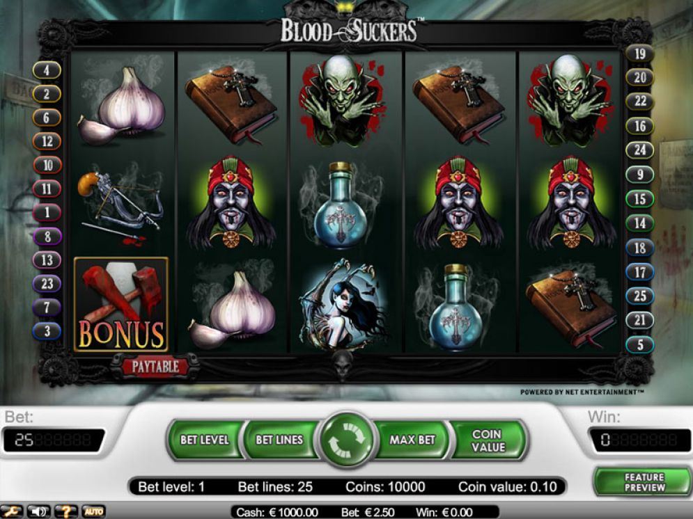 la slot machine blood suckers