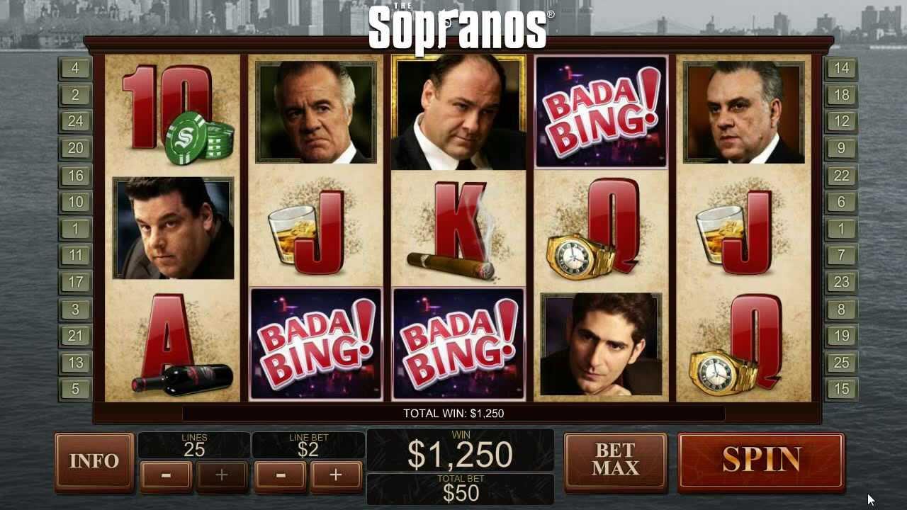 screenshot slot machine soprano