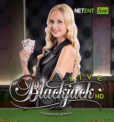 Blackjack live net ent