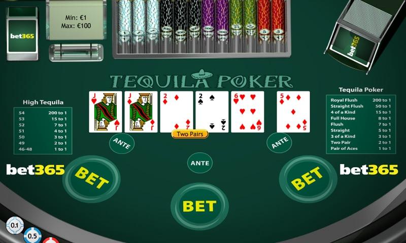 tequila poker 365