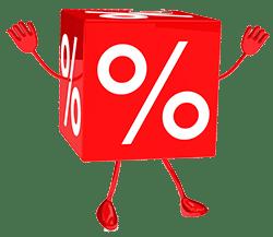 dado percentuale