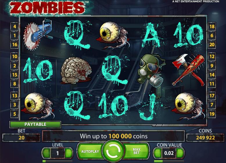 la slot zombie di net ent