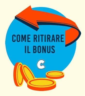 Ritirare il bonus senza deposito