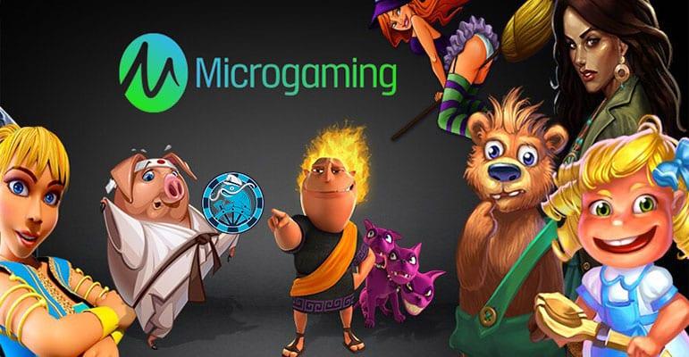 I personaggi dei casino microgaming
