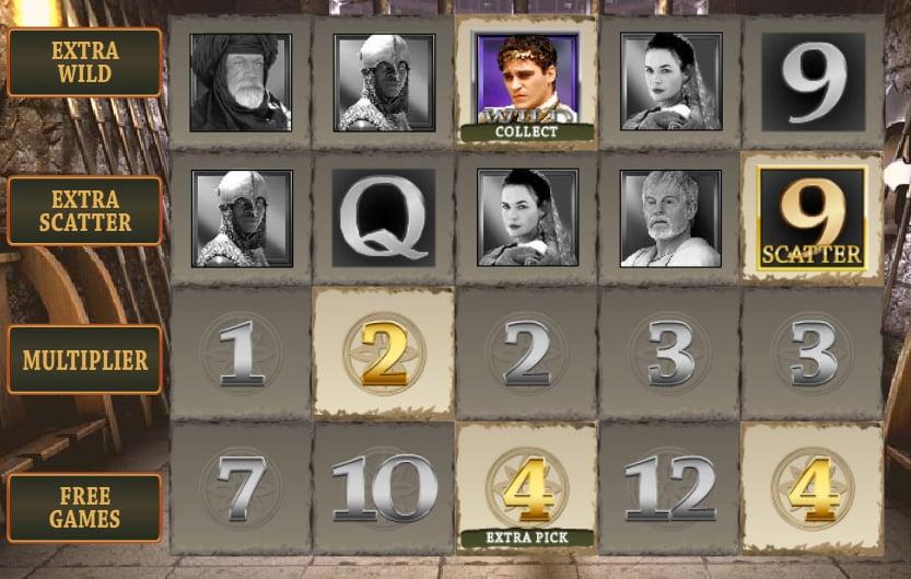 gioco bonus slot gladior online playtech
