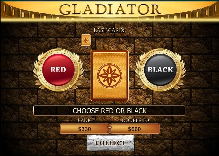 funzione raddoppio slot gladiartor