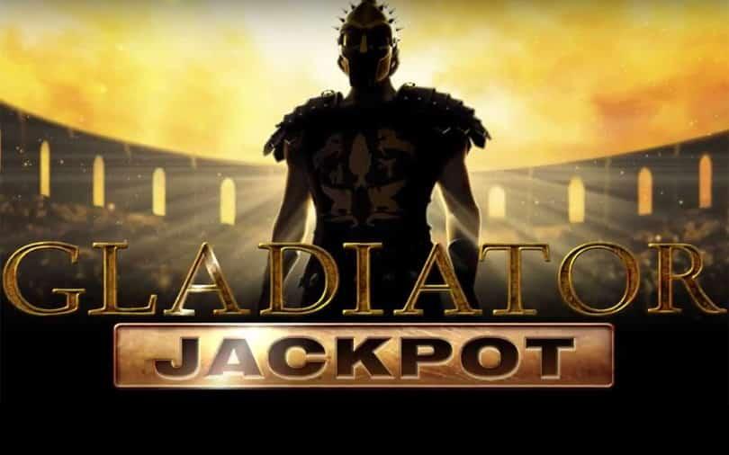 slot gladiator logo jackpot