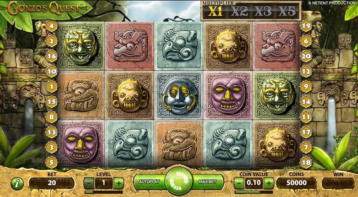 screenshot slot gonzo quest