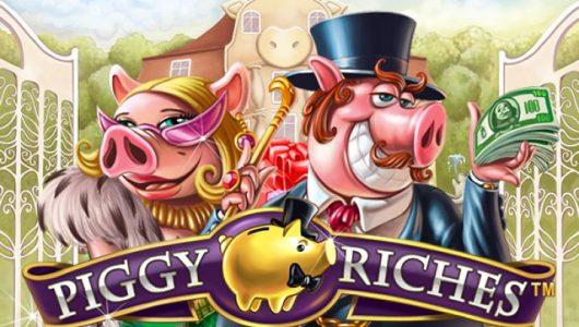 Piggy Riches slot salvadanio netent