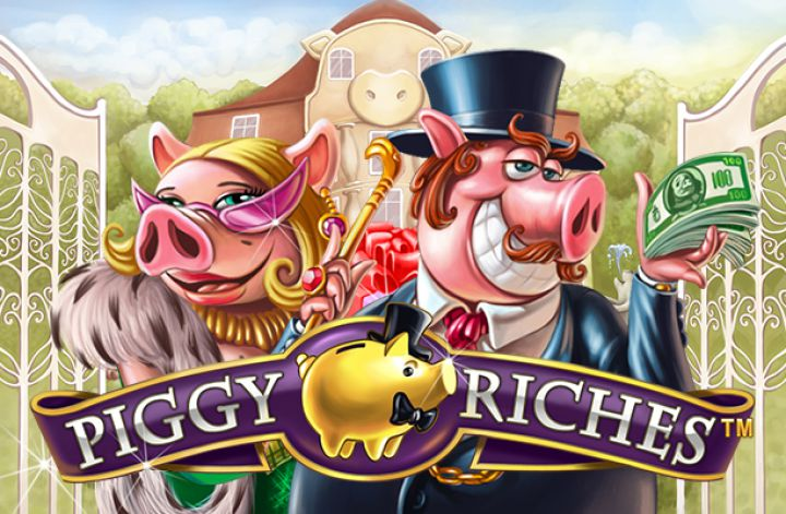 Piggy Riches slot salvadanio netent