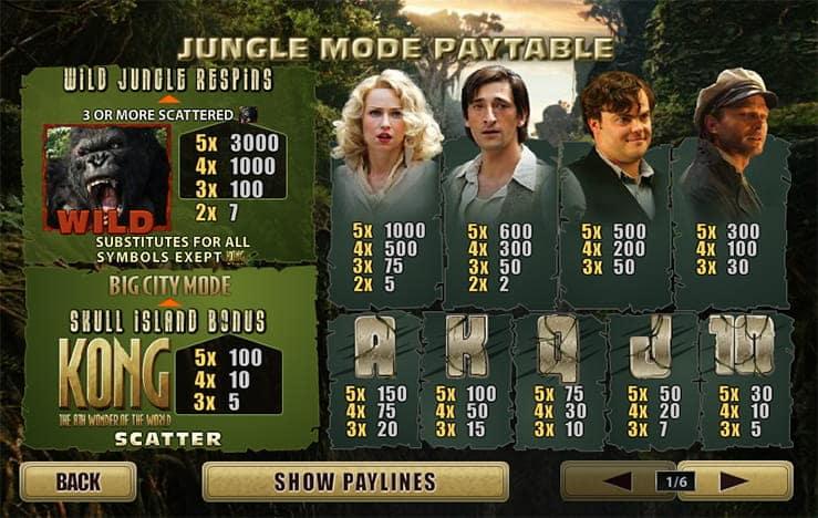 king kong jungle