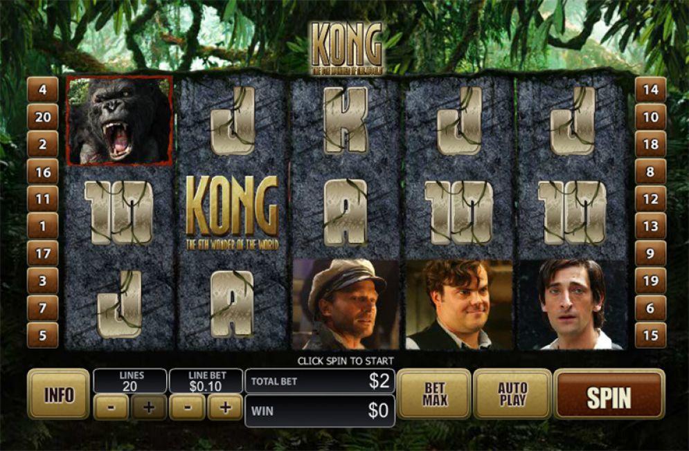screenshot slot king kong