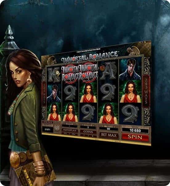 la slot machine online aams microgaming immortal romance