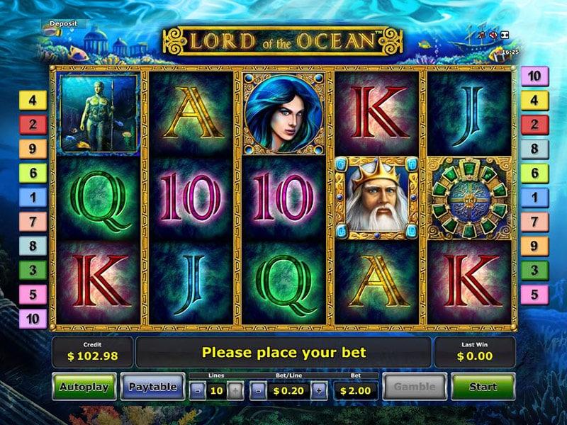 screenshot lord of the ocean