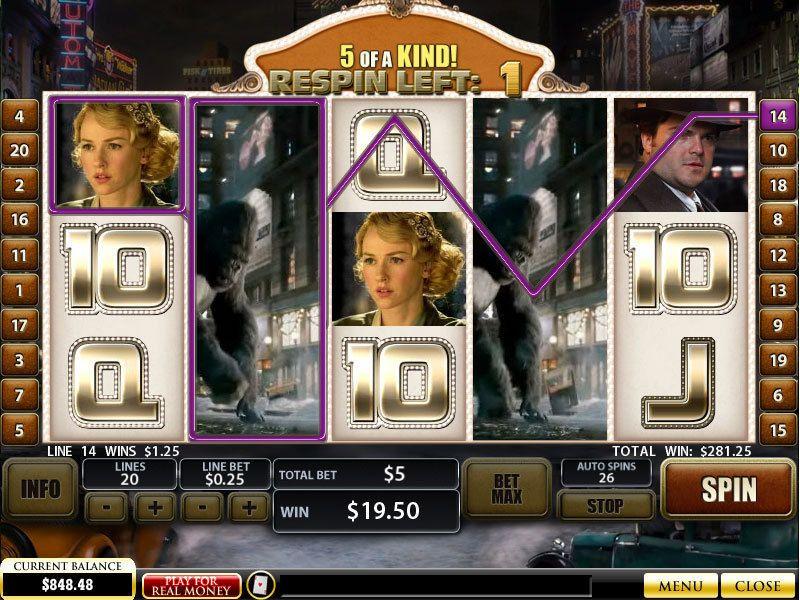 slot king kong free spins