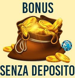 Il bonus senza deposito dei migliori casino online aams