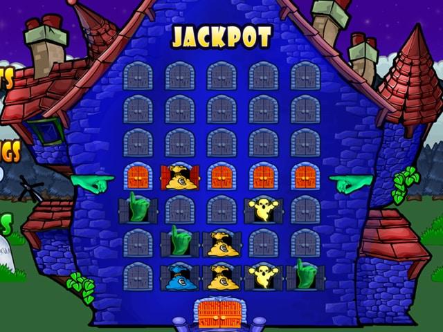 gioco bonus slot haunted house