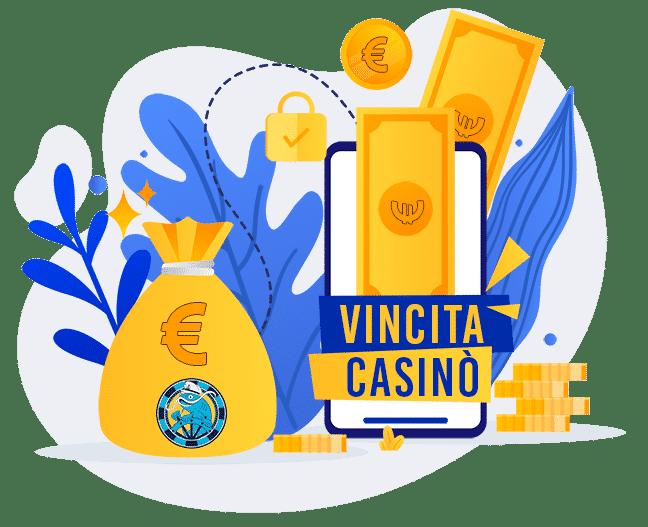 vincita casino